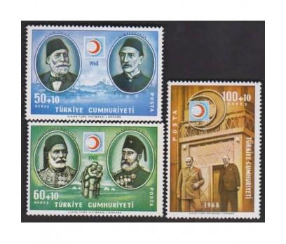 1968- KIZILAY IN 100. YILI TAM SERİ PULLAR