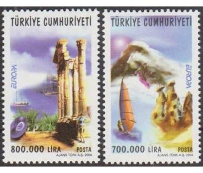2004 Avrupa Europa Cept Tatil Damgasız**