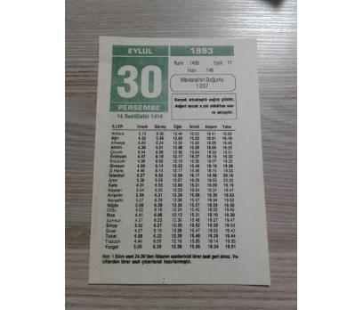 30 EYLÜL 1993