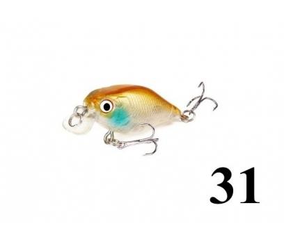 31 Kasna balık avlarına 4.5 cm Crankbait yem