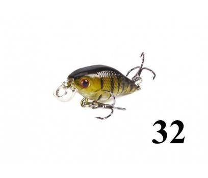 32 Kasna balık avlarına 4.5 cm Crankbait yem