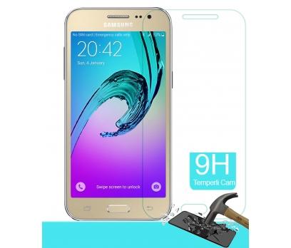 Samsung Galaxy J2 Ekran Koruyucu Şeffaf Gerçek Temperli Cam