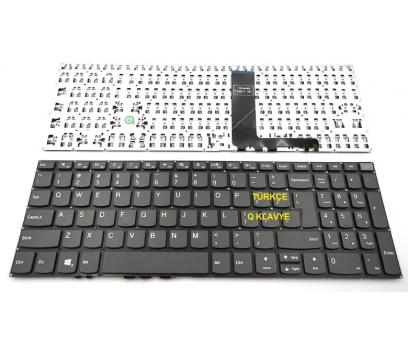 Lenovo 5CB0P26272, 5CB0P26239 Klavye Tuş Takımı Gri Q Türkçe Laptop Klavye