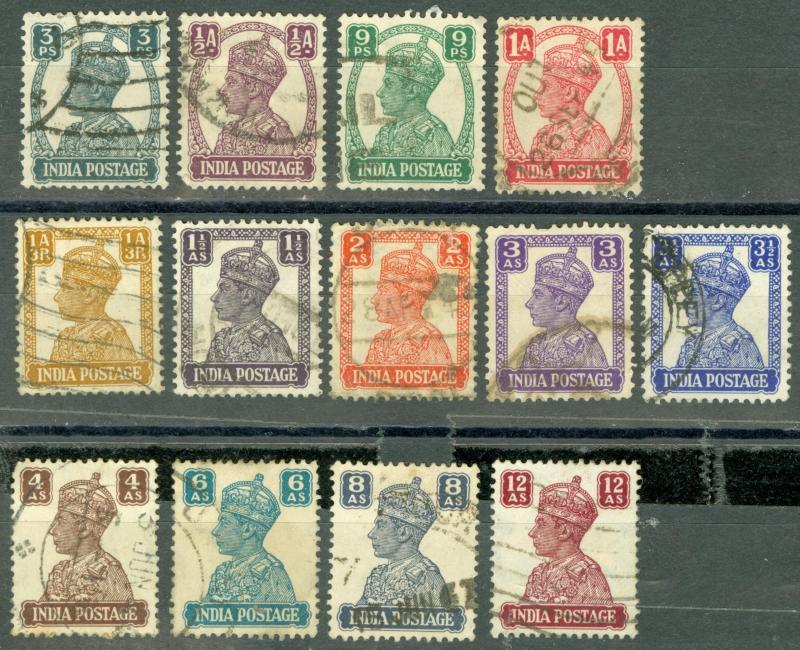 HİNDİSTAN 1941-1943 PUL 10911011001 1