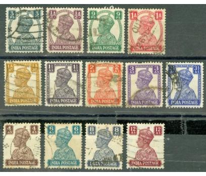HİNDİSTAN 1941-1943 PUL 10911011001