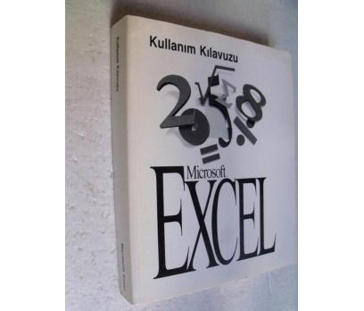 MICROSOFT EXCEL KULLANIM KLAVUZU 1993-94