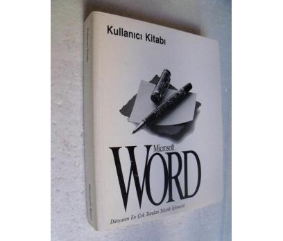 MICROSOFT WORD KULLANICI KİTABI 1993-94