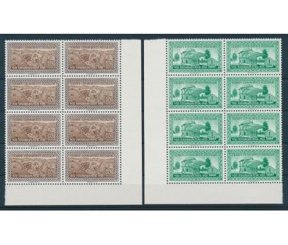 TÜRKİYE 1953 PUL BLOK 10110081001 2