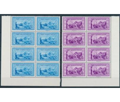 TÜRKİYE 1953 PUL BLOK 10110081001 5