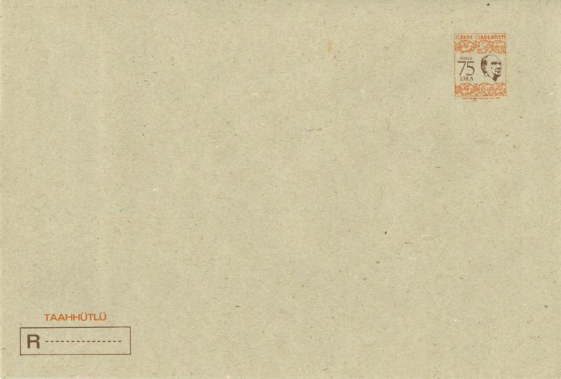 TÜRKİYE 1983 ANTİYE ZARF 10114011003 1