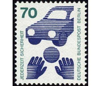 ALMANYA (BERLİN) 1973 DAMGASIZ YENİ DEĞER SERİSİ