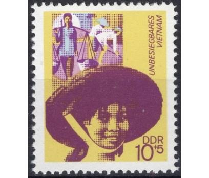 ALMANYA (DOĞU) 1972 DAMGASIZ VİETNAM SERİSİ