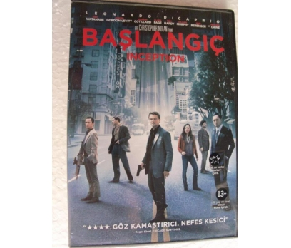 BAŞLANGIÇ inception DVD Leonardo Dicaprio,