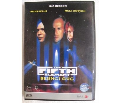 BEŞİNCİ GÜÇ The Fifth Element DVD Bruce Willis
