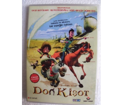 DON KİŞOT Donkey Xote DVD ANİMASYON FİLM