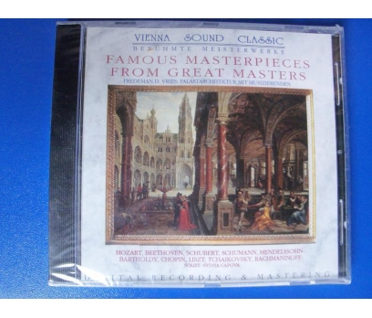 FAMOUS MASTERPIECES FROM GREAT MASTER CD AMBALAJIN