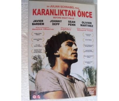 KARANLIKTAN ÖNCE before night falls DVD JAVIER BAR