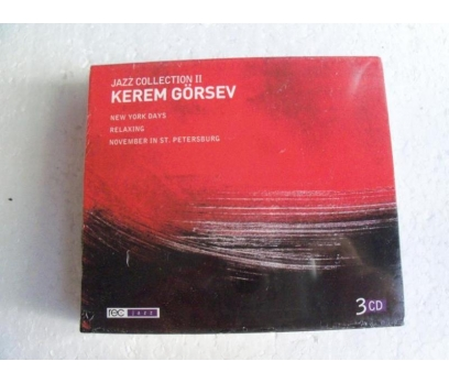 KEREM GÖRSEV Jazz Collection Vol.2 3CD SIFIR