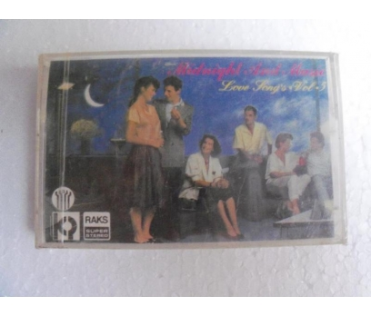 MIDNIGHT AND MUSIC Love Songs VOL 5 KASET SIFIR