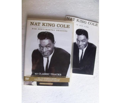 NAT KING COLE for sentimental reasons DVD + CD