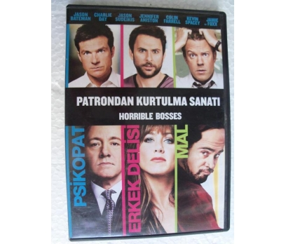 PATRONDAN KURTULMA SANATI Horrible Bosses DVD