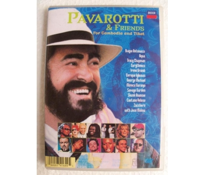 Pavarotti & Friends - For Cambodia & Tibet DVD