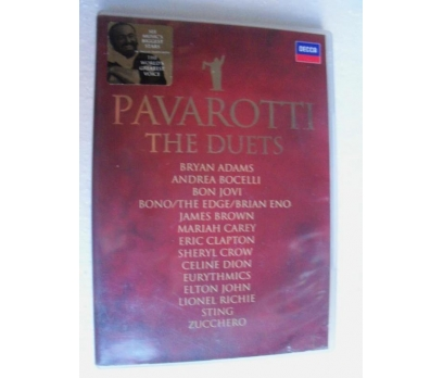 PAVAROTTI the duets DVD STING, BOCELLI, BONO, BROW
