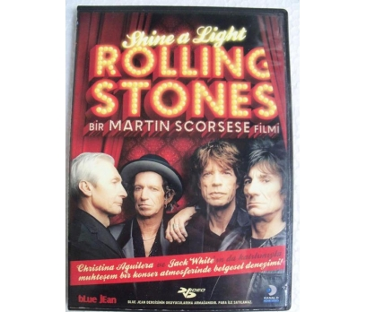 Shine A Light ROLLING STONES DVD Martin Scorsese F