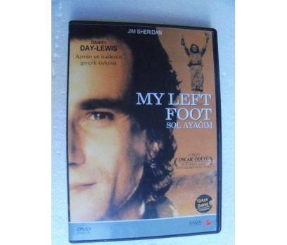 SOL AYAĞIM my left foot DVD Daniel Day-Lewis