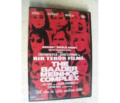 THE BAADER MEINHOF COMPLEX bir terör filmi DVD