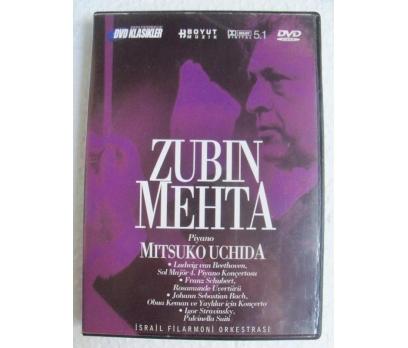 ZUBIN MEHTA MITSUKO UCHIDA İsrail Flarmoni DVD