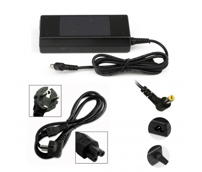 Acer eMachines G500, G520, G525 Adaptör Şarj Aleti Siyah Renk