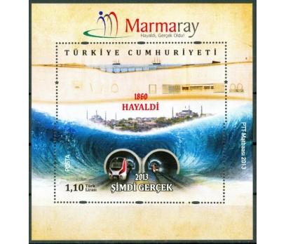 ERÖR TÜRKİYE 2013 MARMARAY BLOK PUL 10110011001 2