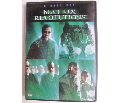 MATRIX REVOLUTIONS 2DVD Keanu Reeves, Wachowski Br 1