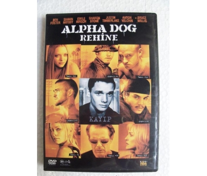 REHİNE Alpha Dog DVD BRUCE WILLIS