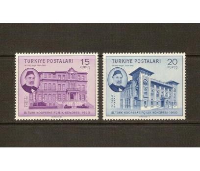 1950 T. KOOPERATİF. KONGRESİ TAM SERİ (MNH) 1