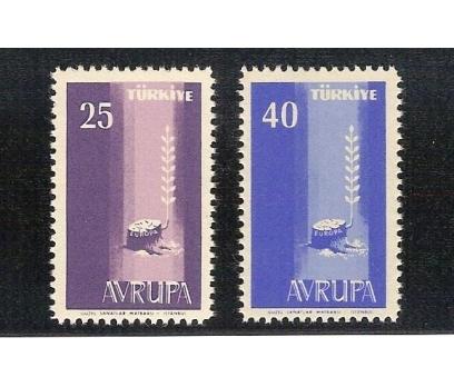 1958  AVRUPA CEPT TAM SERİ (MNH)