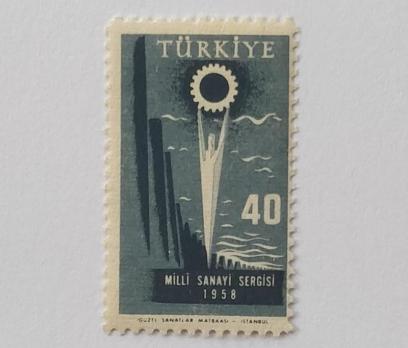 1958  T. MİLLİ SANAYİ SERGİSİ TAM SERİ (MNH)
