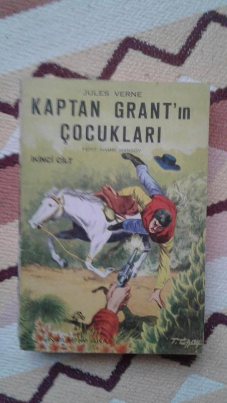 KAPTAN GRANTIN ÇOCUKLARI - 2. CİLT  JULES VERNE 1