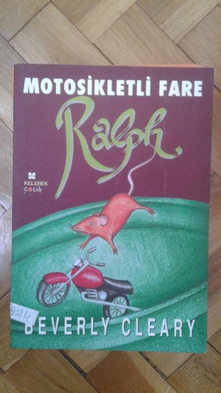 MOTOSİKLETLİ FARE RALPH BEVERLY CLEARY 1