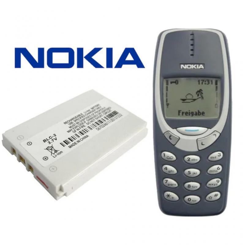 Nokia 3310 Batarya Pil BLC-2 Pil Batarya 3410 3315 1