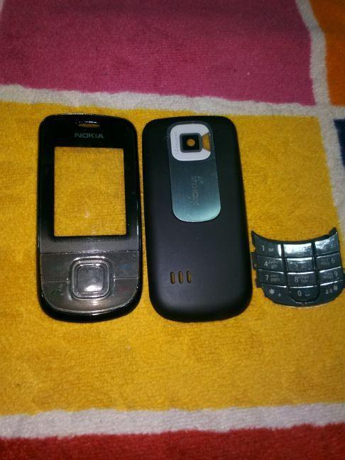 Nokia 3600s Orijinal Komple Kapak ve Tuş Seti Full 1