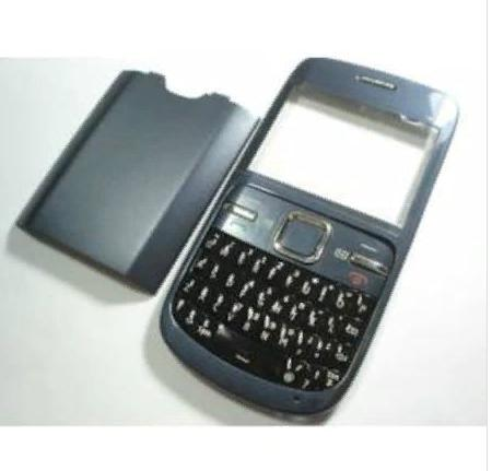 Nokia C3-00 Kapak+Tuş Takımı+Pil Kapağı Seti Full 1