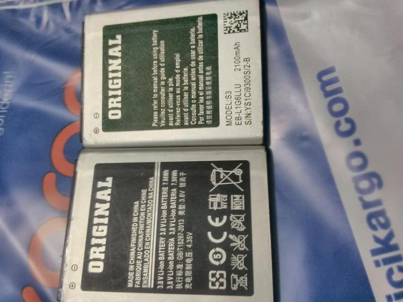 SAMSUNG İ9300 S3 %100 ORJİNAL BATARYA+BEDAVA KARGO 1