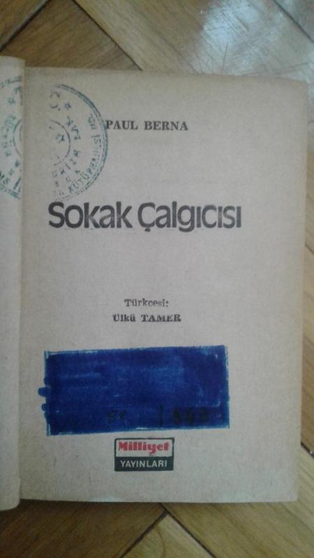 SOKAK ÇALGICISI PAUL BERNA 1