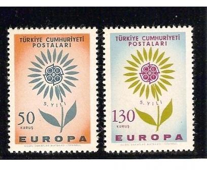 1964  AVRUPA CEPT TAM SERİ (MNH)
