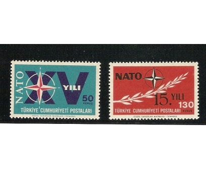 1964 NATONUN 15. YILI  TAM SERİ (MNH)