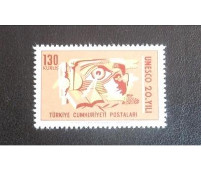 1966 UNESCO 20. YILI  TAM SERİ (M.N.H.)