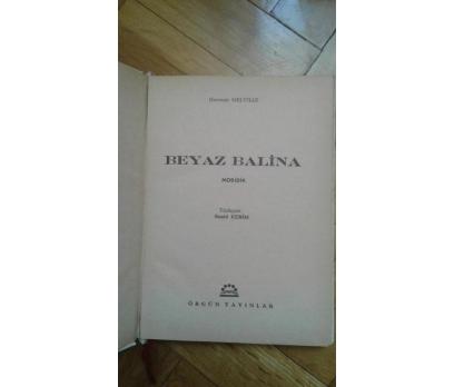 BEYAZ BALİNA HERMAN MELVILLE