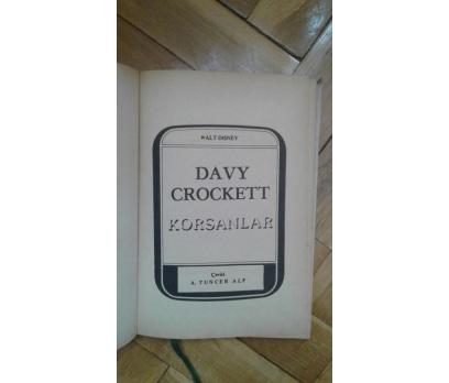 DAVY CROCKETT - KORSANLAR WALT DISNEY